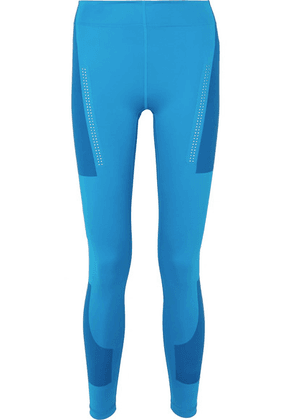 adidas by Stella McCartney - + Parley For The Oceans Fitsense+ Climalite Leggings - Blue
