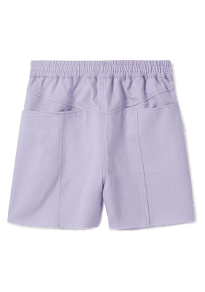 Paradised Kids - Lara Cotton-twill Shorts - Lavender