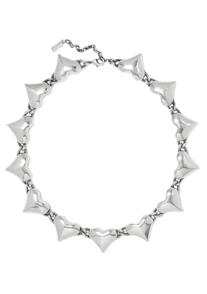 SAINT LAURENT - Silver-tone Necklace - one size