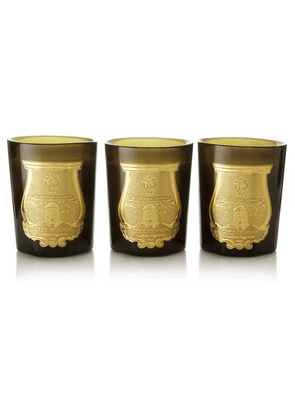 Cire Trudon - Odeurs Royales Set Of Three Scented Candles, 3 X 100g - one size