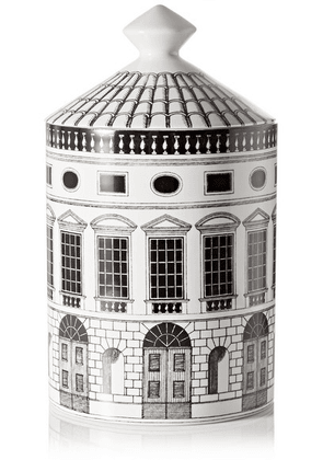 Fornasetti - Architettura Thyme, Lavender And Cedarwood Scented Candle, 300g - White