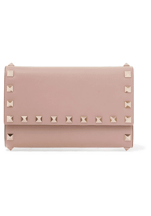 Valentino - Valentino Garavani Rockstud Medium Leather Wallet - Blush