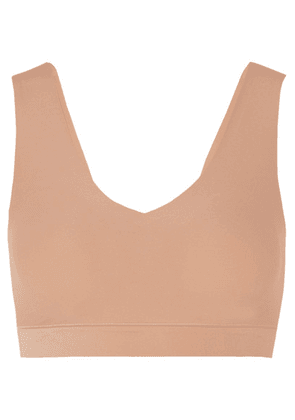 Chantelle - Stretch-jersey Soft-cup Padded Bralette - Neutral