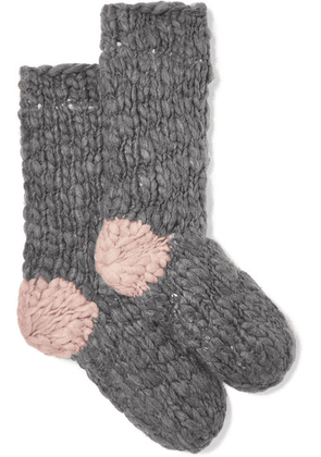 Eberjey - The Scout Knitted Socks - Gray