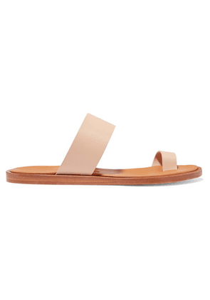 Common Projects - Minimalist Leather Sandals - Beige