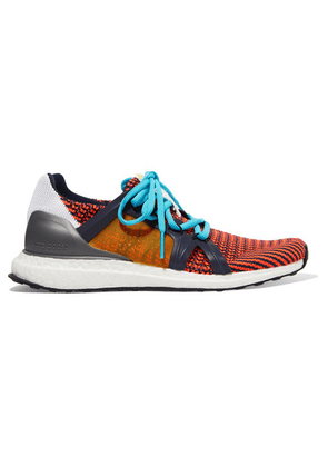 adidas by Stella McCartney - Ultraboost S Mesh And Rubber-trimmed Primeknit Sneakers - Orange
