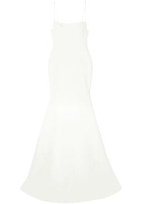 Alex Perry - Eliza Satin-crepe Gown - White