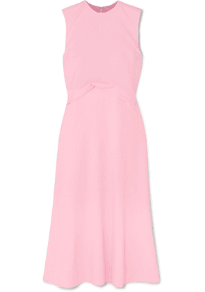Victoria Beckham - Draped Georgette Midi Dress - Baby pink