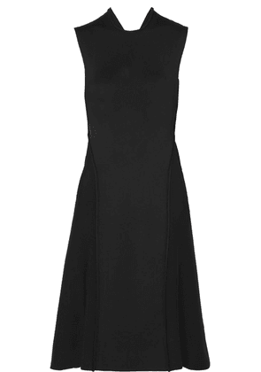 Victoria Beckham - Cutout Ponte Dress - Black