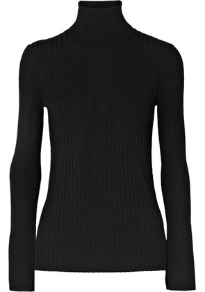 Alex Mill - Ribbed Wool-blend Turtleneck Sweater - Black