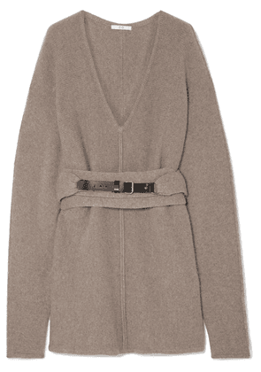 Co - Oversized Belted Cashmere Sweater - Sand