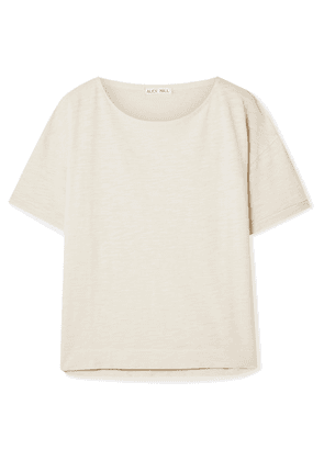Alex Mill - Slub Cotton-jersey T-shirt - Off-white