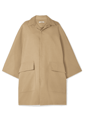 Co - Cotton And Wool-blend Gabardine Coat - Camel