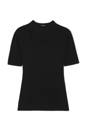 J.Crew - Ribbed-knit T-shirt - Black