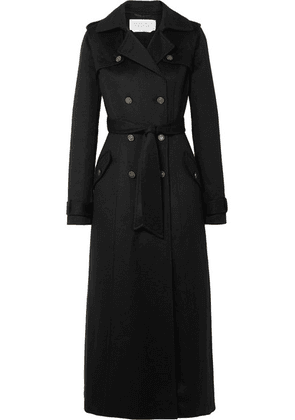 Gabriela Hearst - Casatt Double-breasted Cashmere Trench Coat - Black