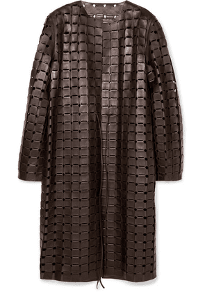 Bottega Veneta - Leather Coat - Brown