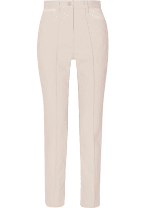 Dion Lee - Paneled High-rise Straight-leg Jeans - Cream