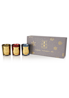 Cire Trudon - Christmas Collection Set Of Three Scented Candles, 3 X 100g - one size
