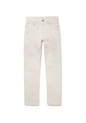 Beams Plus - Slim-fit Cotton Trousers - Off-white