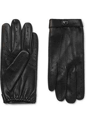 Dents - Flemming Leather Gloves - Black