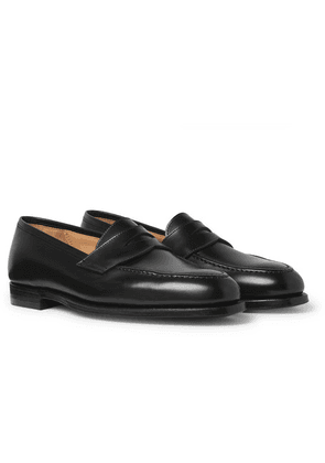 George Cleverley - Bradley 2 Leather Penny Loafers - Black