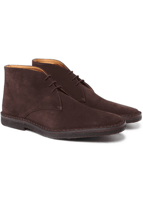 Connolly - Suede Desert Boots - Brown