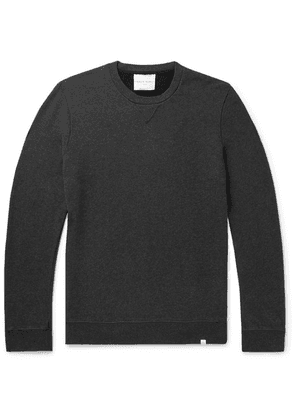Derek Rose - Devon Brushed Loopback Cotton-jersey Sweatshirt - Charcoal