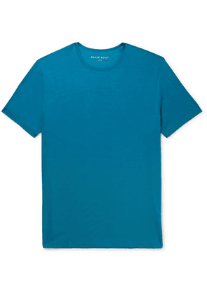Derek Rose - Basel Stretch-micro Modal Jersey T-shirt - Blue