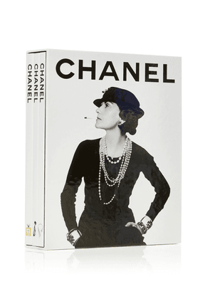 Assouline Set-Of-Three Chanel Hardcover Books