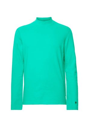 DISTRICT VISION - + Reigning Champ Radical Retreat Loopback Cotton-jersey Sweatshirt - Teal
