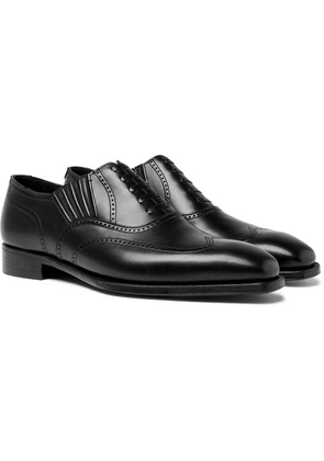 George Cleverley - Winston Leather Oxford Brogues - Black