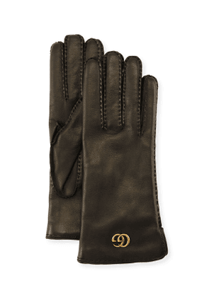 Leather Gloves w/ GG Hardware