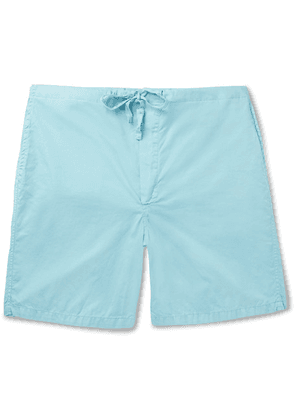 Cleverly Laundry - Cotton Shorts - Light blue