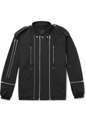 99%IS- - Zip-detailed Tech-shell Jacket - Black