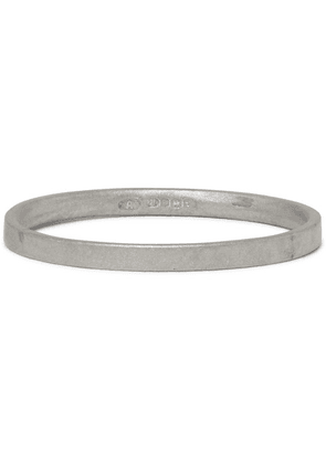 Alice Made This - M2 Bancroft Brushed Sterling Silver Ring - Silver