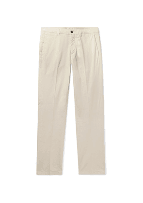 Dunhill - Slim-fit Stretch-cotton Chinos - Beige