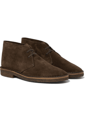 Drake's - Clifford Suede Desert Boots - Brown