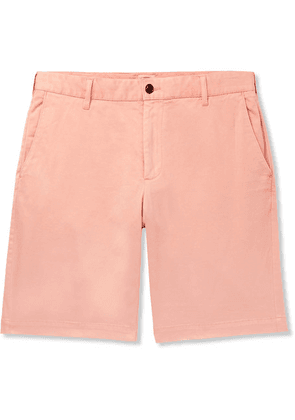 Faherty - Stretch-cotton Shorts - Coral