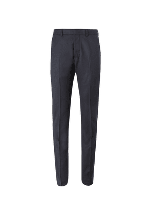 AMI - Navy Slim-fit Virgin Wool-twill Trousers - Navy