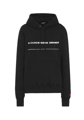Cotton-jersey hoodie