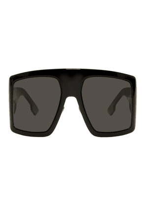 Dior Black Oversized DiorSoLight1 Sunglasses
