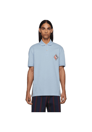 Gucci Blue GG Diamond Polo