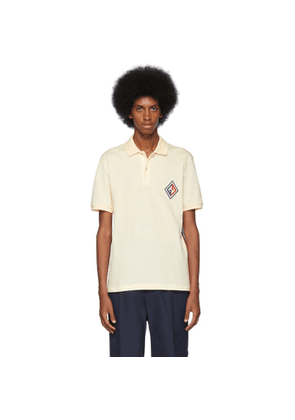 Gucci Off-White GG Diamond Polo