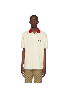 Gucci Off-White GG Polo