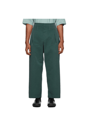 Craig Green Green Line Stitch Worker Trousers