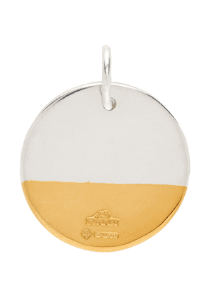 Bunney Silver and Gold Dip Necklace Charm
