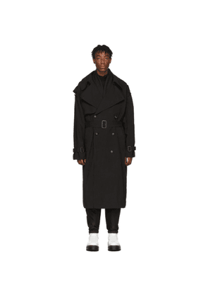D.Gnak by Kang.D Black Classic Trench Coat