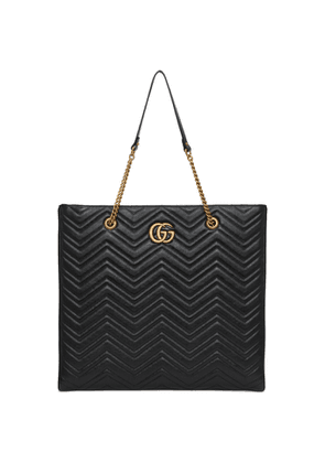 Gucci Black Large GG Marmont 2.0 Tote