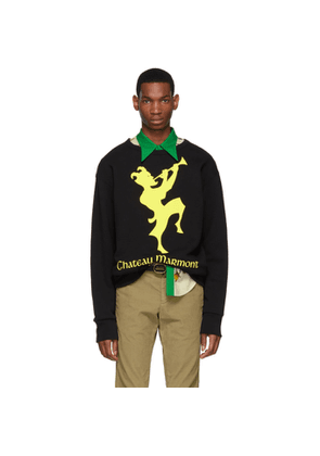 Gucci Black and Yellow Chateau Marmont Sweatshirt