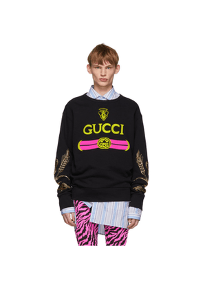 Gucci Black Beaded Sweatshirt